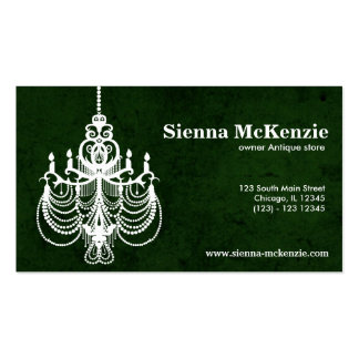 Chandelier Business Card Template