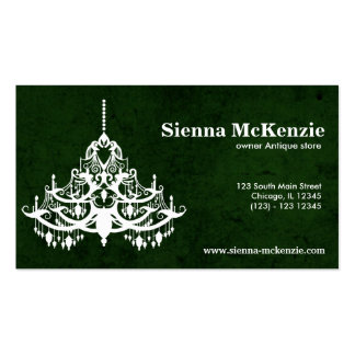 Chandelier Business Cards