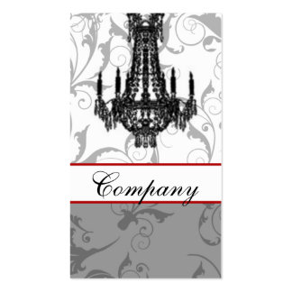 chandelier Chic Business Cards