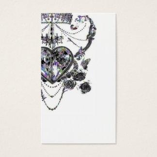Chandelier crown card
