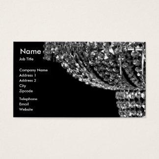 Chandelier Lighting Business Card