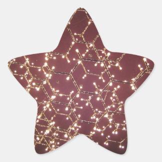 Chandelier of Lights Star Sticker