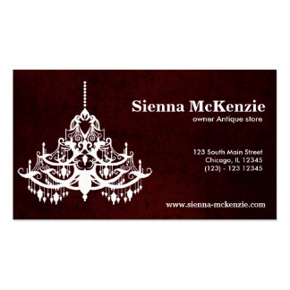 Chandelier Pack Of Standard Business Cards