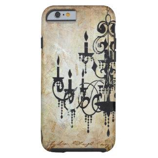 Chandelier Silhouette Artwork iPhone 6 Case