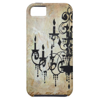 Chandelier Silhouette Artwork iPhone 5 Covers
