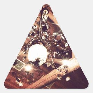 Chandelier Triangle Sticker