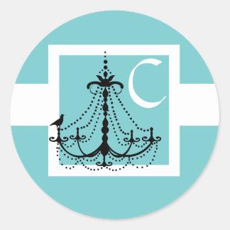 Chandelier Wedding Sticker