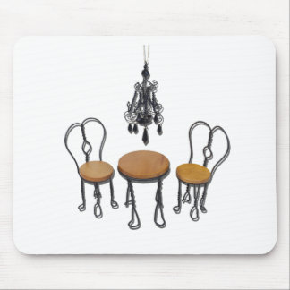 ChandelierBistroSetting121611 Mouse Pad