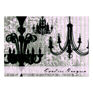 Chandeliers Business Card Templates