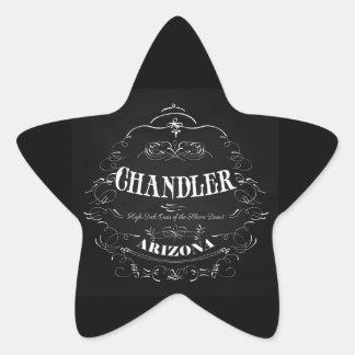 Chandler, Arizona - High Tech Oast Star Sticker