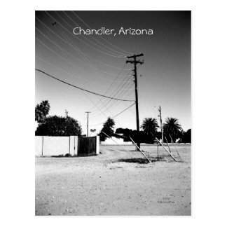 Chandler AZ Powerlines Postcard