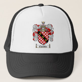 CHANDLER FAMILY CREST -  CHANDLER COAT OF ARMS TRUCKER HAT