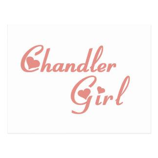 Chandler Girl tee shirts Postcard
