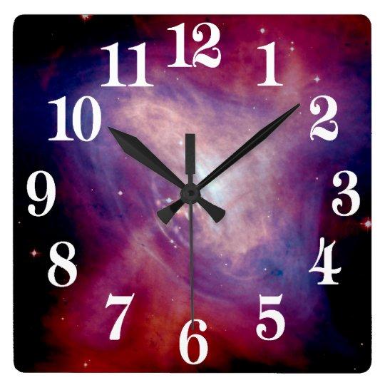 Chandra Crab Nebula NASA Wall Clock