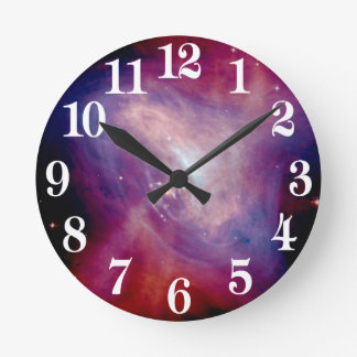 Chandra Crab X-Ray Nebula NASA Round Clock