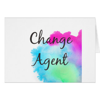 Change Agent Card