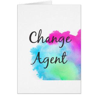 Change Agent Card