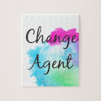 Change Agent Jigsaw Puzzle