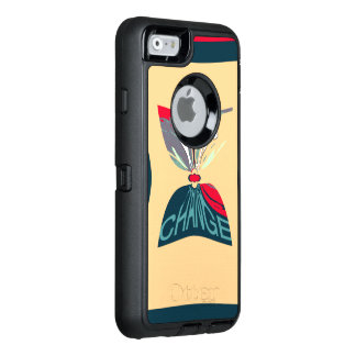 Change amazing funny smart phone pattern design OtterBox iPhone 6/6s case