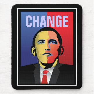 Change - Barack Obama Mouse Pad