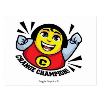 Change Champion Postcard