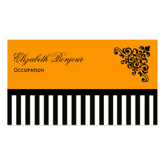 CHANGE COLOR French Boutique Business Cards