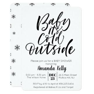 CHANGE COLOR - Modern Baby Shower Invitation