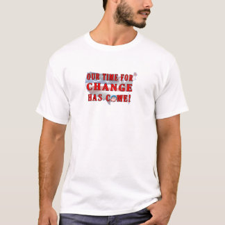 Change Has Come postage T-Shirt