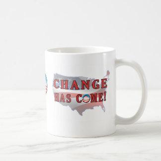 Change Has Come to America Mug