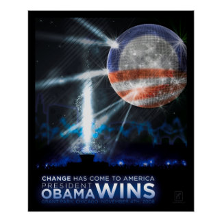 Change Has Come to America Poster