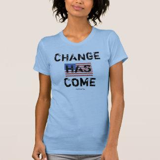 Change Has Come Tee Shirts