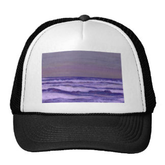 Change in the Weather Ocean Waves Seascape Mesh Hats