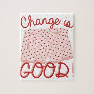 Change Is Good! Puzzle