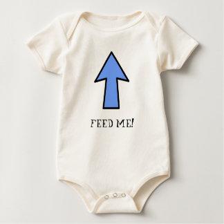 CHANGE ME! FEED ME! BABY BODYSUIT