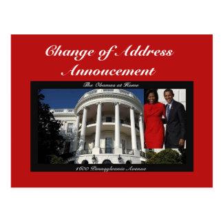 Change of Address Annoucement Postcards