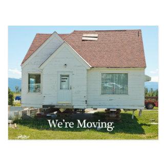 Change of Address Card We re Moving Postcards