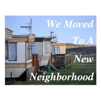 Change of Address New Neighborhood Postcard