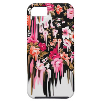 Change of Heart, melting floral pattern iPhone 5 Cover