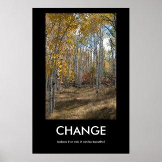 Change on Pinyon Mesa Inspiration Poster