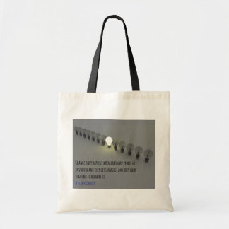 Change Only Happens (1) tote