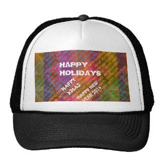 Change Text :  NEWYEAR HOLIDAYS CHRISTMAS XMAS DIY Hats