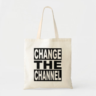 Change the Channel Tote Bag