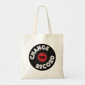 Change the Record! Tote Bag