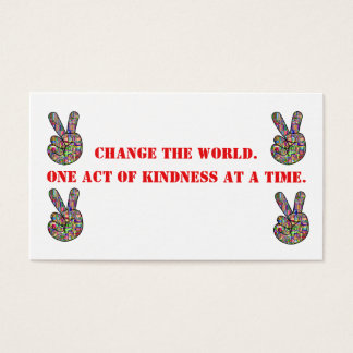 Change The World cards