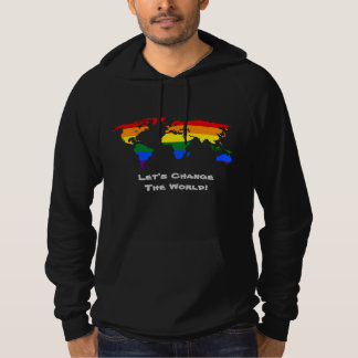 Change the world gay pride Sweatshirt