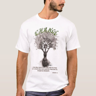 change tree woman anais nin T-Shirt