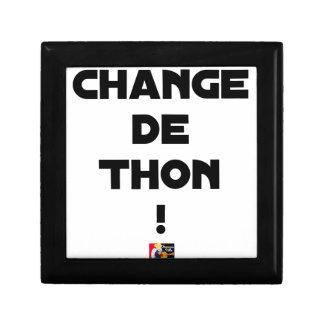 CHANGE TUNA! - Word games - François City Gift Box