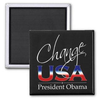 Change USA Obama - Magnet