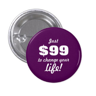 Change your life - Direct Sales 3 Cm Round Badge