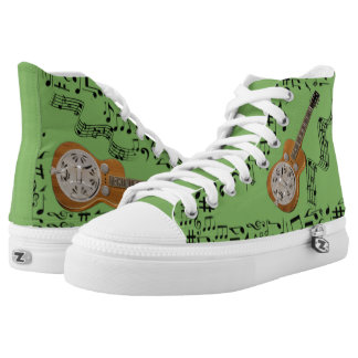 CHANGEABLE BACKGROUND COLOR -DOBRO- HIGH TOPS